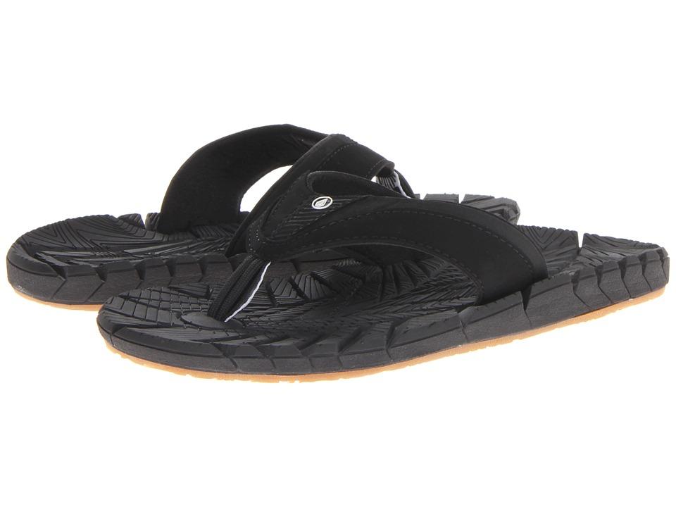 Volcom - Radial (Black) Men's Sandals