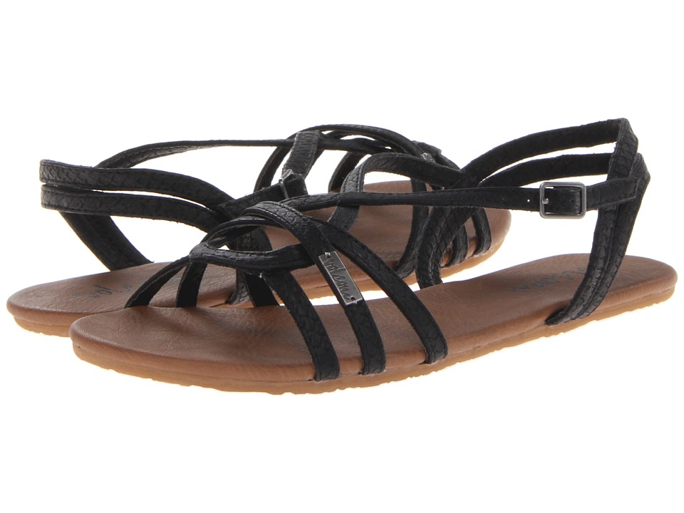 Volcom - On My List (Black) Women's Sandals