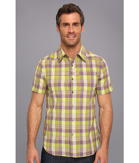 Royal Robbins - Karma Check S/S (Turf) Men's Short Sleeve Button Up