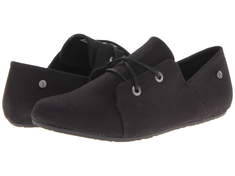 Volcom - Soul Mates (Black Canvas) Women's Lace up casual Shoes