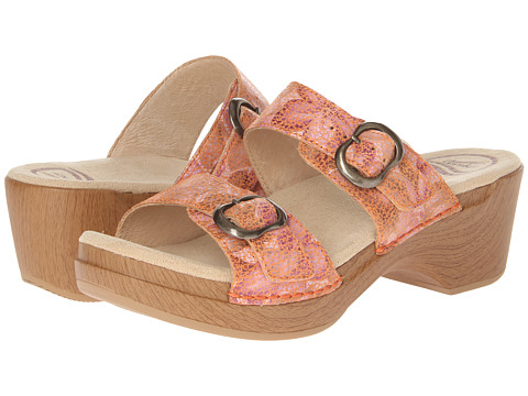 Dansko - Sophie (Peach Floral Zappos Exclusive) Women's Sandals