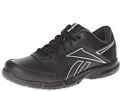 Reebok Walkfusion RS Leather (Black/Gravel/Pure Silver) Women's Walking Shoes