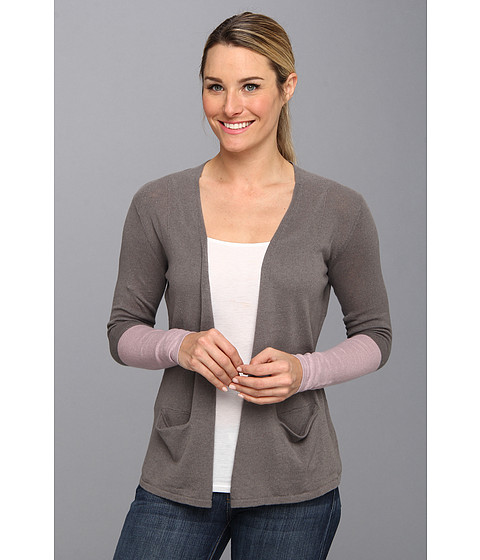 Toad&Co - Postcard Cardigan (Smoke/Misty Cuff) Women's Sweater