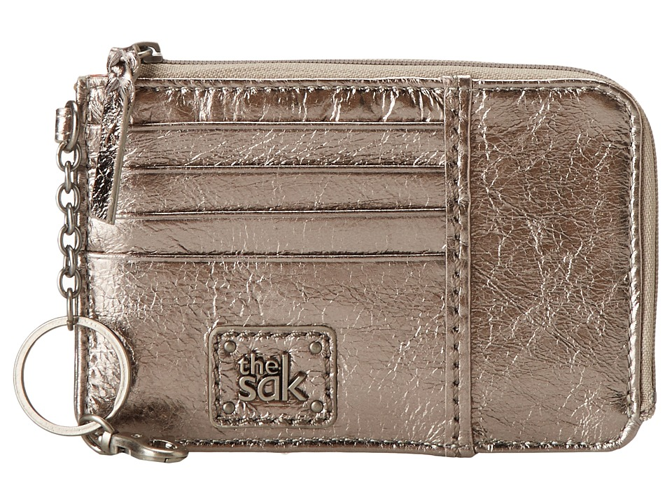 The Sak - Iris Card Wallet (Pyrite Metallic) Wallet Handbags