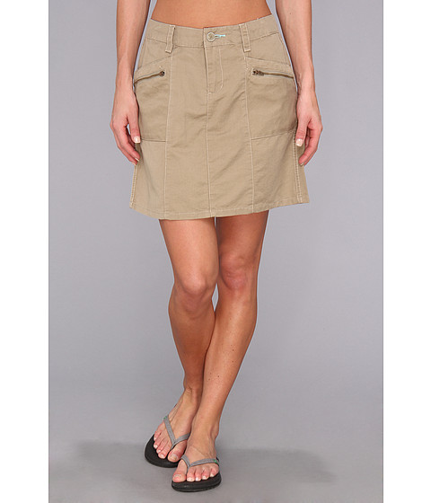 Toad&Co - Swept Away Skirt (True Khaki) Women
