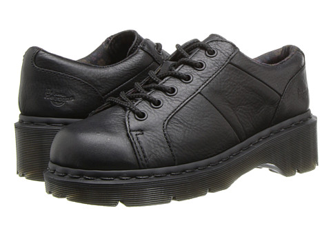 Dr. Martens - Keani Lace to Toe Shoe (Black Polished Inuck) Women