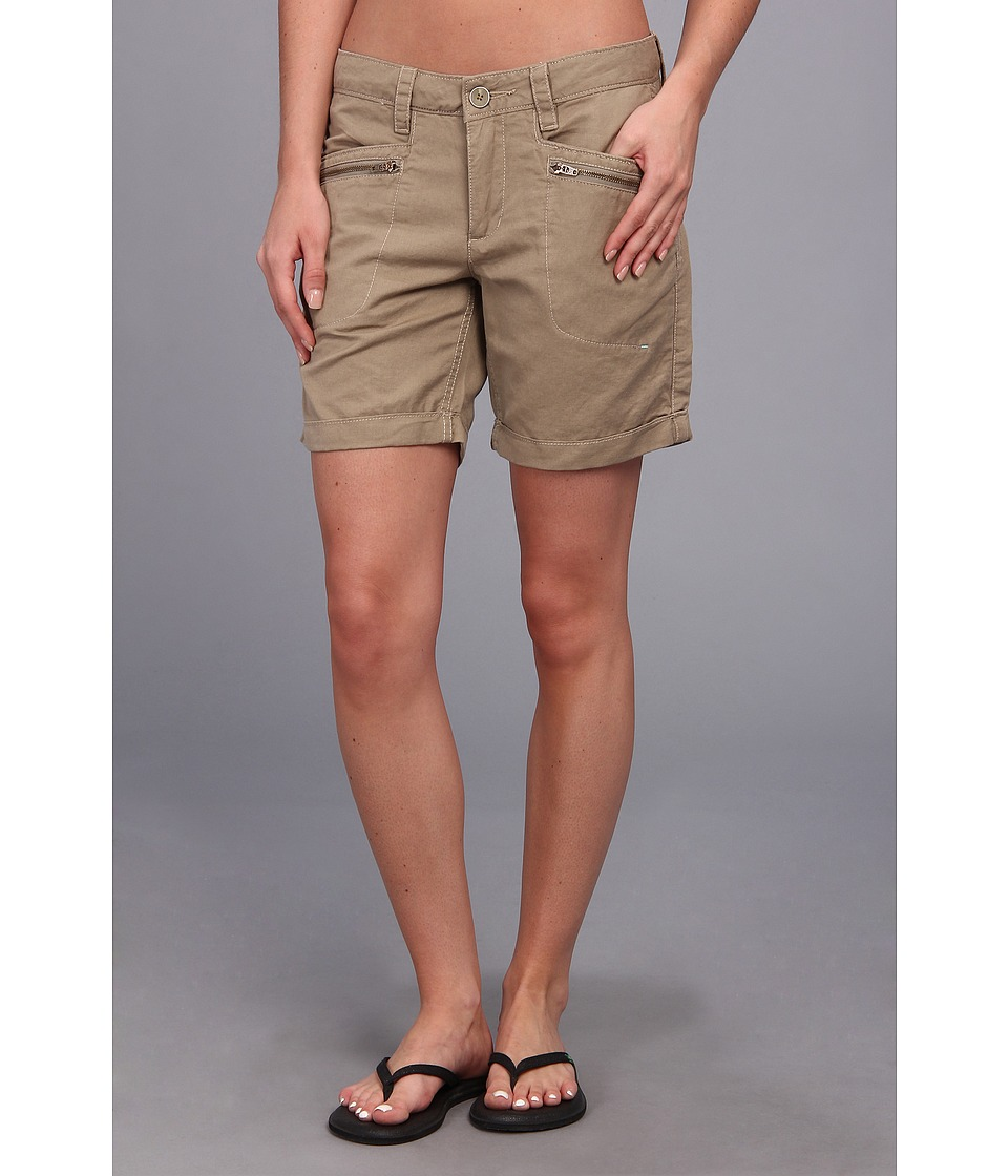 Toad&Co - Swept Away Short (True Khaki) Women's Shorts