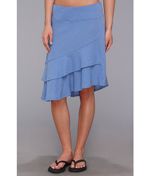 Toad&Co - Scallop Skirt (Blue Print) Women's Skirt
