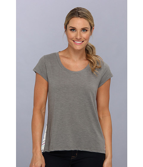 Toad&Co - Merger Tee (Smoke) Women's Short Sleeve Pullover