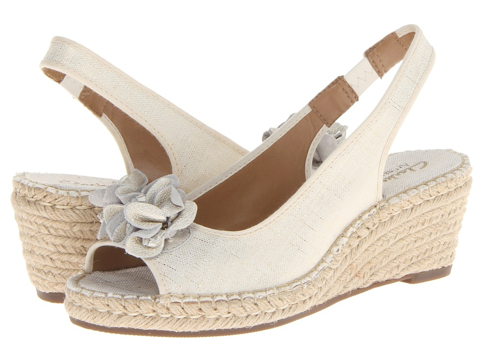 Clarks - Petrina Corra (Off White) Women's Shoes