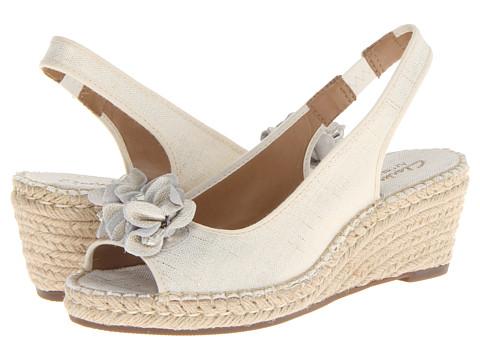 Clarks - Petrina Corra (Off White) Women's Shoes
