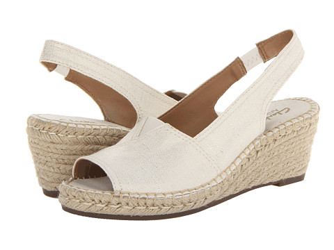 Clarks - Petrina Rhea (Off White) Women's Shoes