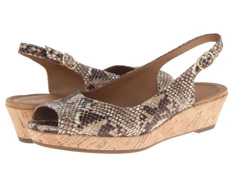 Clarks - Orlena Currant (Natural Snake) Women
