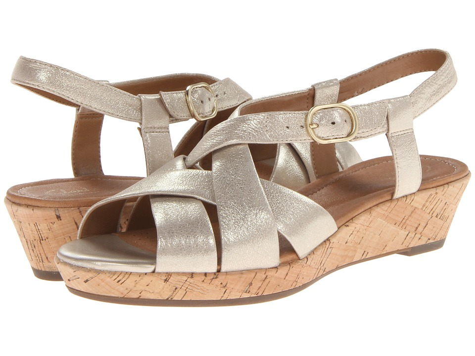 Clarks - Orlena Chutney (Gold) Women's Shoes