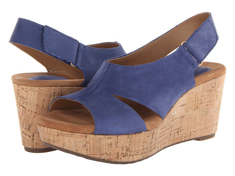 e04c4f89694 ... UPC 887460555949 product image for Clarks Caslynn Lizzie (Blue) Women s  Wedge Shoes