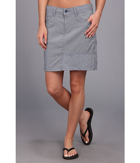 Toad&Co - Sea Change Skirt (Deep Blue/Pearl Blue) Women