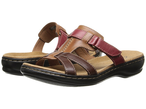 Clarks - Leisa Bora (Brown Multi) Women's Shoes