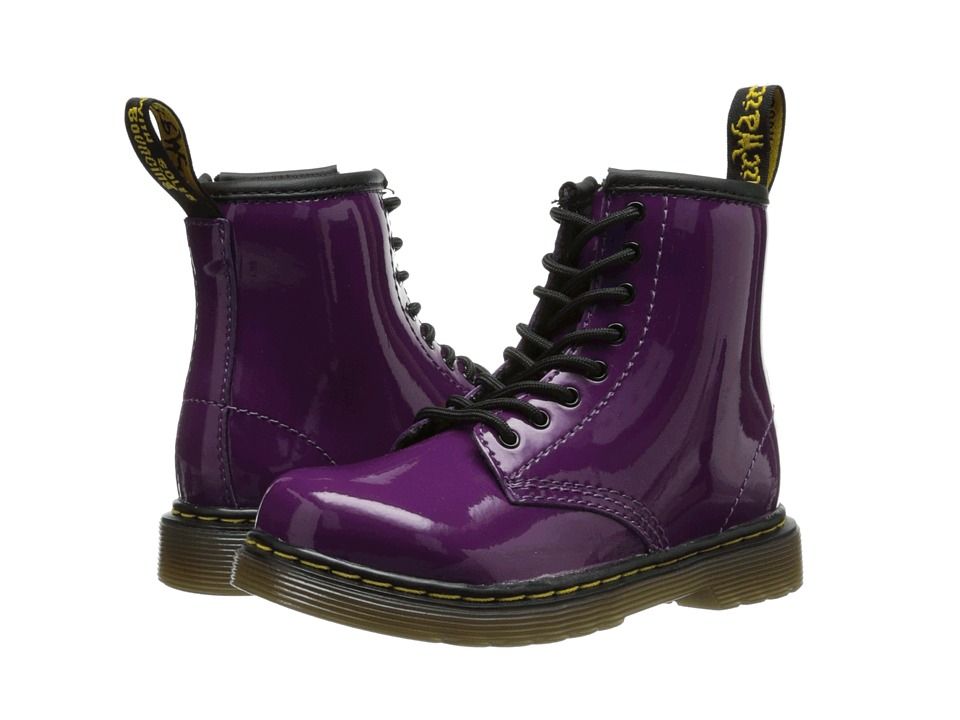 Dr. Martens Kid's Collection Brooklee 8-Eye Boot Kids Shoes