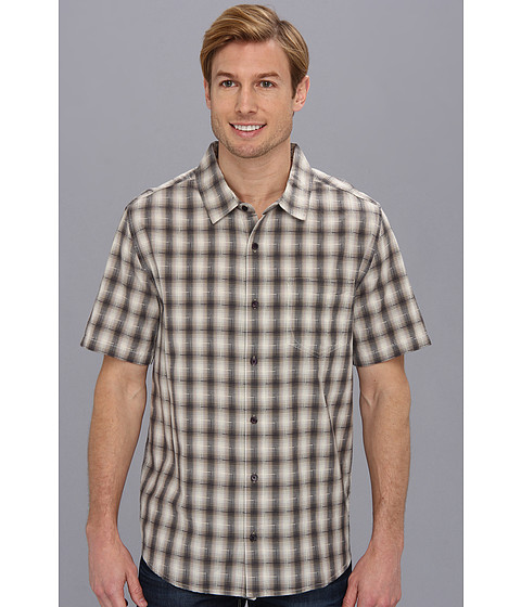 Toad&Co - Open Air S/S Shirt (Silversage) Men's Short Sleeve Button Up