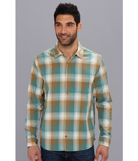 Toad&Co - Open Air Long Sleeve Shirt (Honey Brown) Men