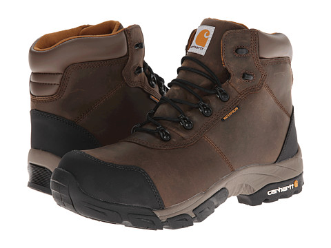 Carhartt - Lightweight Waterproof Work Hiker 2 (Bal Brown) Men's Work Boots