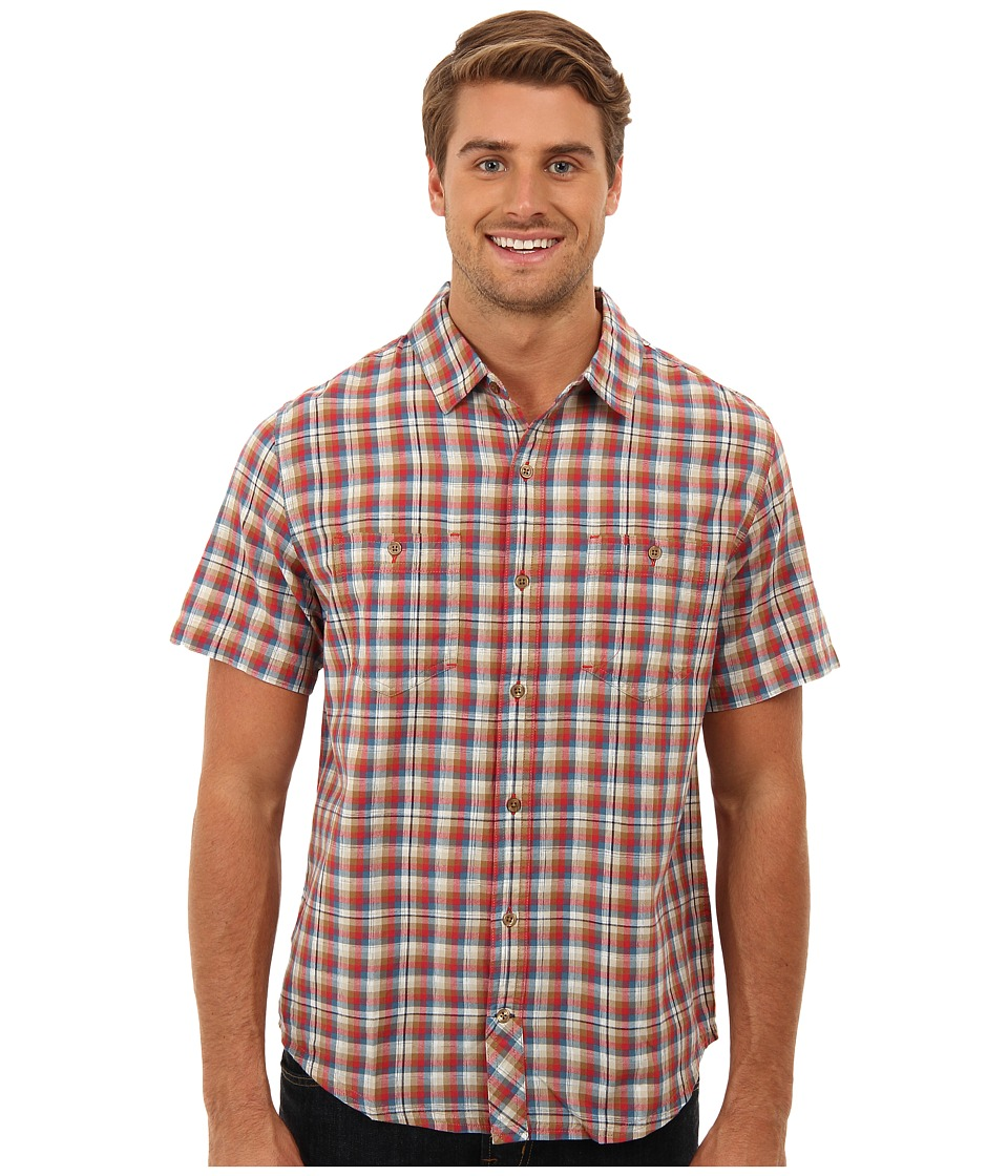 Toad&Co - Smythy S/S Shirt (Marlin) Men's Short Sleeve Button Up