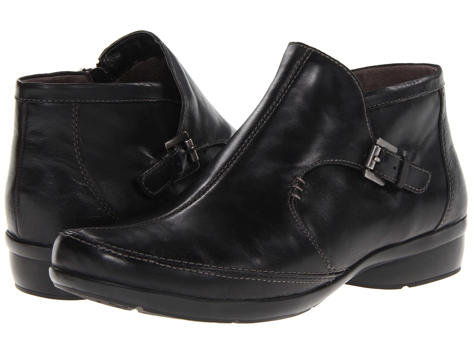 Naturalizer - Cassidy (Black Leather) Women's Boots