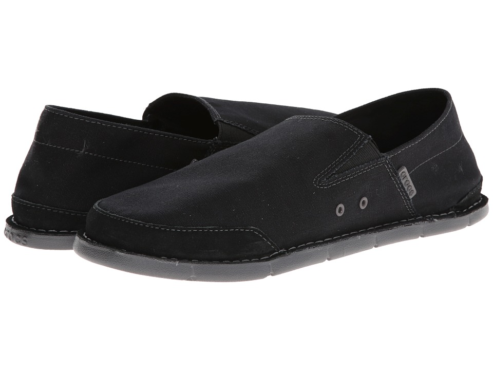 Crocs - Cabo Low (Black/Graphite) Men's Shoes