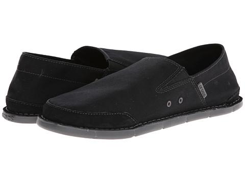 Crocs - Cabo Low (Black/Graphite) Men's Shoes