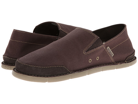 Crocs - Cabo Low (Espresso/Khaki) Men's Shoes