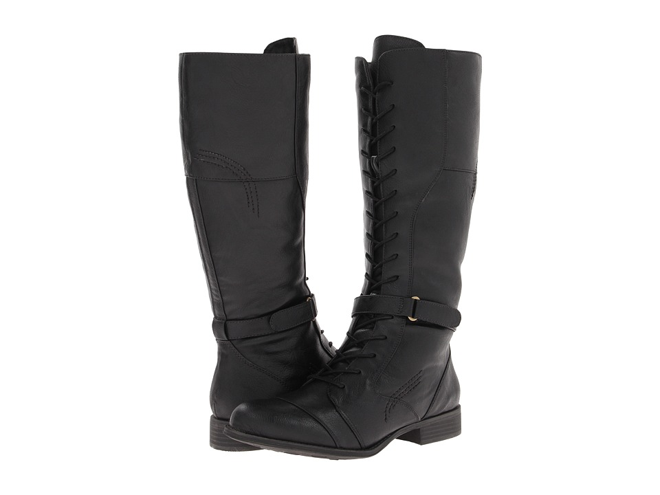 Naturalizer - Jakes Boot (Black Smooth) Women