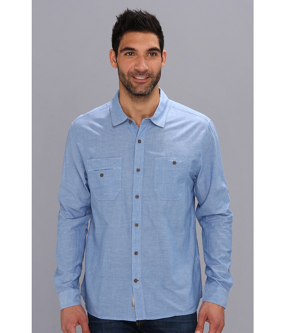 Toad&Co - Honcho Shirt (Lapis) Men's Clothing
