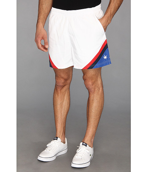 Boast - Corner Panel Short (White) Men's Shorts