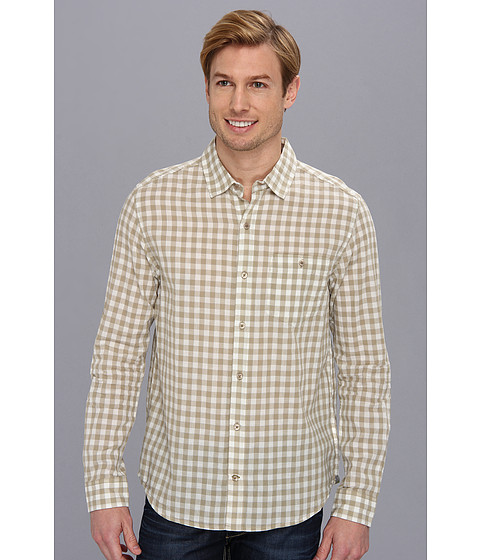 Toad&Co - Cuba Libre L/S Shirt (Silversage) Men's Long Sleeve Button Up