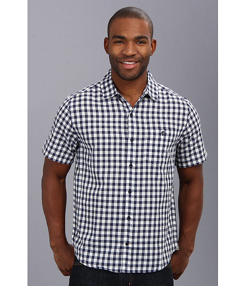 Toad&Co - Cuba Libre S/S Shirt (Bright Navy) Men's Short Sleeve Button Up