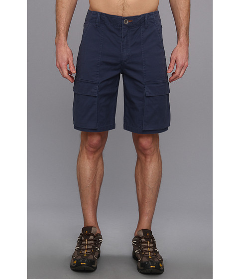 Toad&Co - Swerve Cargo Short (Deep Blue) Men's Shorts