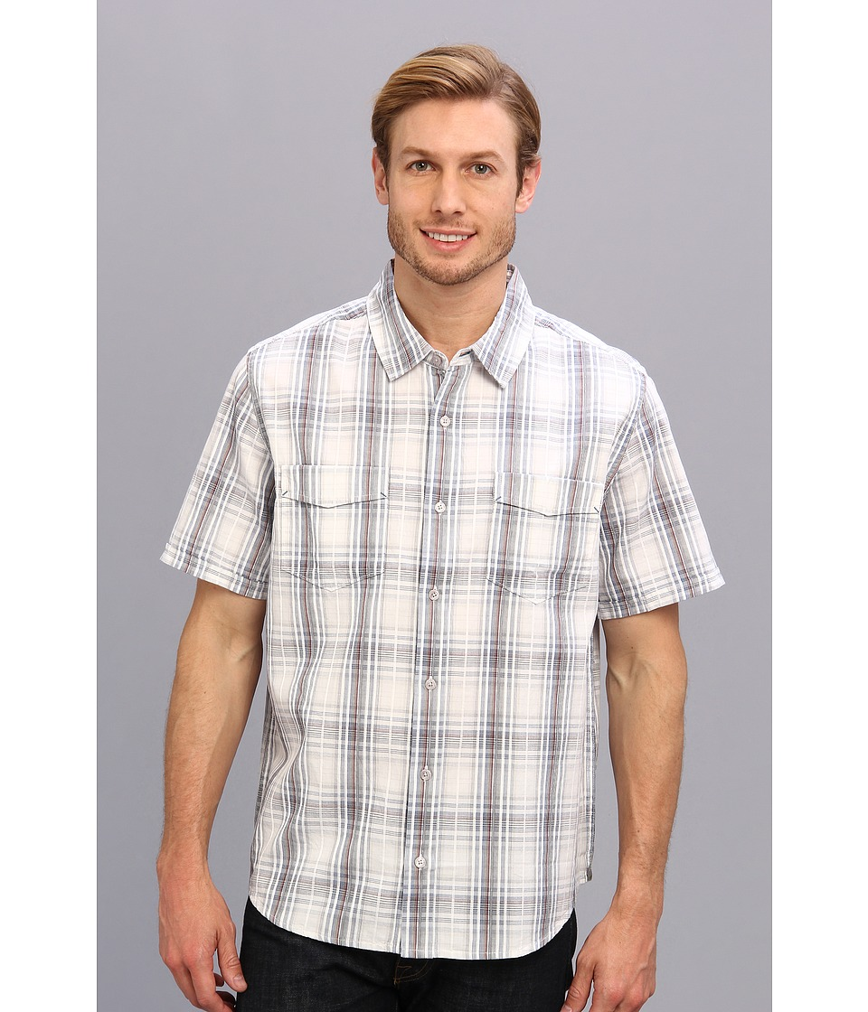 Toad&Co - Sputnik S/S Shirt (Pearl Blue) Men's Short Sleeve Button Up