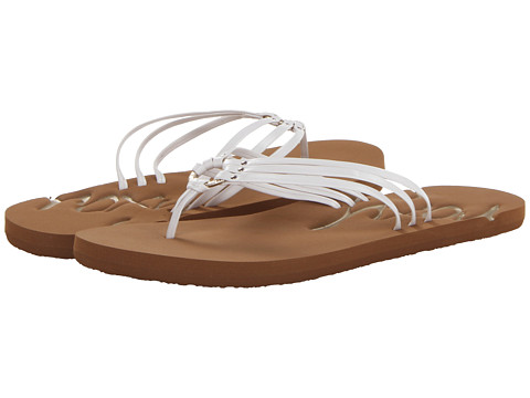 Roxy - Lei (White) Women's Sandals