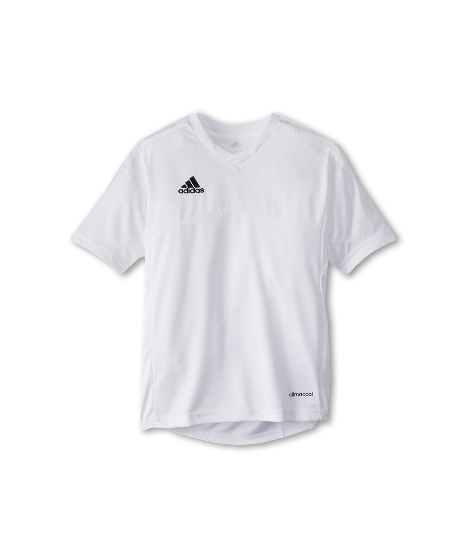 adidas Kids - Tiro 13 Jersey (Little Kids/Big Kids) (White/White) Boy's Short Sleeve Pullover