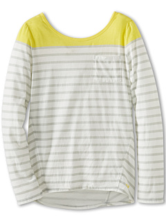 SALE! $16.99 - Save $19 on Roxy Kids Foxhill L S Knit (Big Kids) (Steel Stripe) Apparel - 52.81% OFF $36.00
