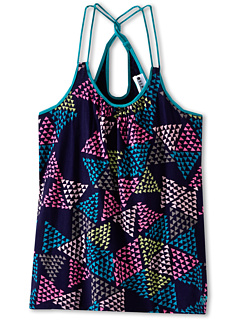 SALE! $14.99 - Save $15 on Roxy Kids Oak Holly Tank (Big Kids) (Indigo Triangle Pattern) Apparel - 49.19% OFF $29.50