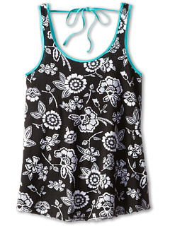 SALE! $14.99 - Save $13 on Roxy Kids Dancing Sun Tank (Big Kids) (True Black Ethnic Floral Print) Apparel - 46.46% OFF $28.00
