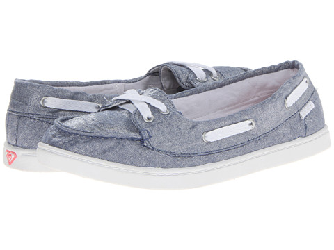 Roxy - Ahoy II (Blue) Women's Slip on Shoes