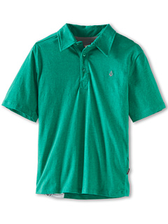 SALE! $14.99 - Save $12 on Volcom Kids Wowzer Polo (Toddler Little Kids) (Kelly Green) Apparel - 44.48% OFF $27.00