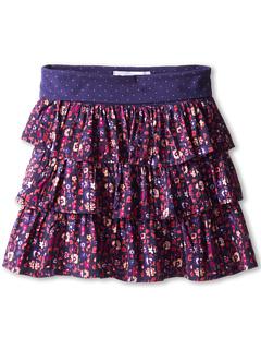 SALE! $16.99 - Save $19 on Roxy Kids Pinwheel Skirt (Big Kids) (Indigo Ethnic Floral Ditsy) Apparel - 52.81% OFF $36.00