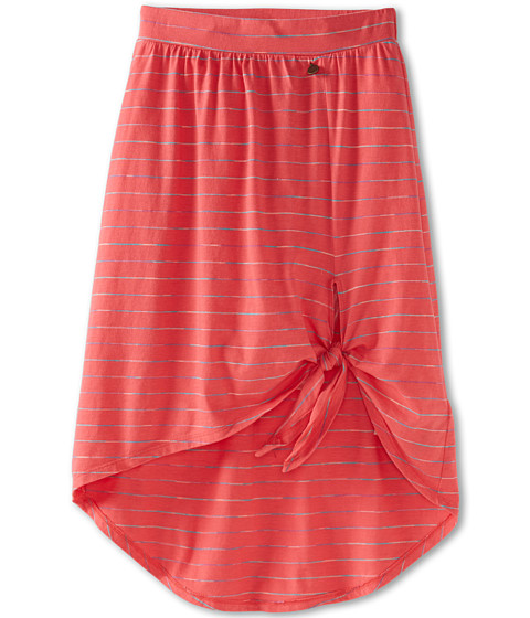 Roxy Kids - Toledo Skirt (Big Kids) (Glow Pink Multi Stripe) Girl's Skirt