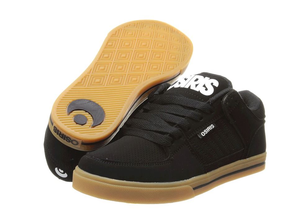 Osiris Protocol (Black/White/Gum) Men