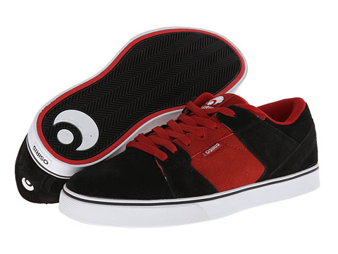 Osiris - PLG VLC (Black/Red/White) Men's Skate Shoes