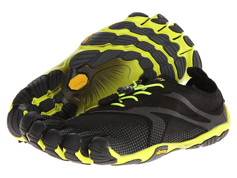 Vibram FiveFingers - Bikila EVO (Black/Yellow) Men's Shoes