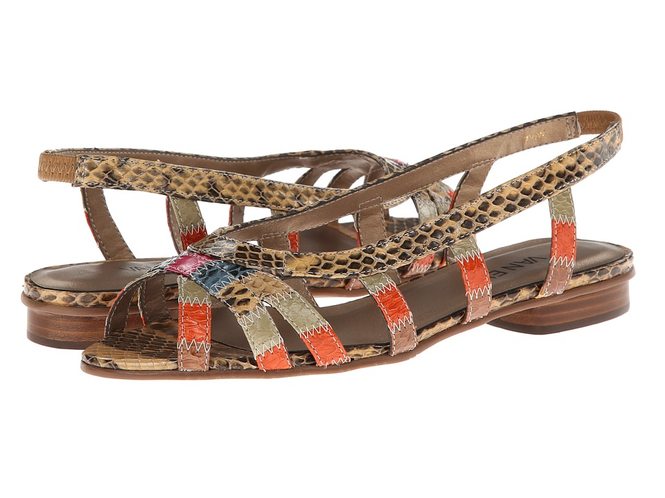 Vaneli - Ashely (Multi Color Whip Snake) Women